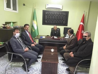 Yeniden Refah Partisi'nden HÜDA PAR'a 'hayırlı olsun' ziyareti