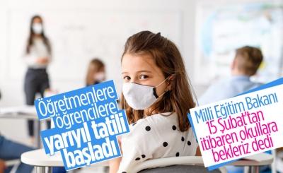 Ziya Selçuk: 15 Şubat'tan itibaren sizi okullara çağırmak istiyoruz